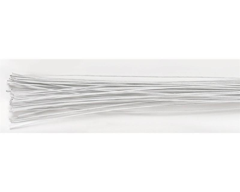 White Floral Wire - 22g - Tortendeko-Shop Bovenden