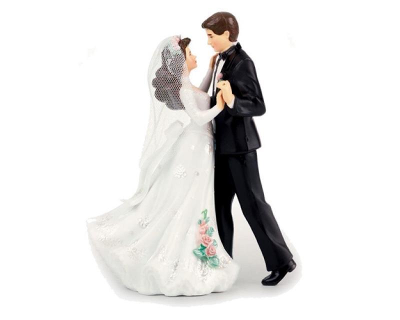 Wilton Tanzendes-Brautpaar- für Hochzeitstorten. - Tortendeko-Shop ...